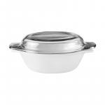 La Opala Casserole with lid White 1.5l 0227