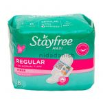 Johnsons Stayfree Maxi Regular With Wings Scented Pads 8S 18511