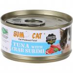 Sumo Cat Premium Plus 80g Tuna with Crab Surimi