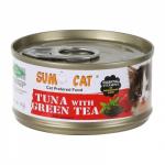 Sumo Cat Premium Plus 80g Tuna with Green Tea