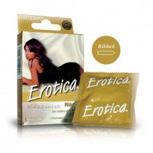 Contempo Condoms Erotica B-P Pack of 3 657 NV
