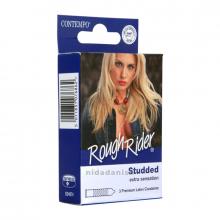 Contempo Condoms Rough-Rider B-P Pack of 3 659 NV