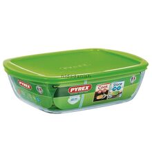 Pyrex Cook & Store Rectangular Dish With Lid 2.5L 28cm 216P000-6145