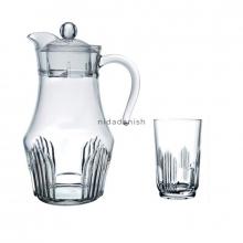 Arcopal Jug Set Orient  1p Jug 6pcs Glasses L4986