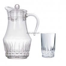 Arcopal Jug Set Lancier 1p Jug 6pcs Glasses L4985