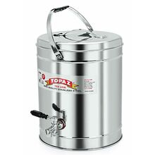 Topaz Tea Can Stainless Steel 40L