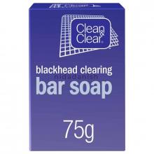 Johnsons Clean N Clear Blackhead Bar Soap 75g 5677