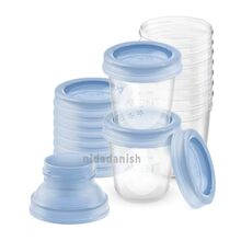 Philips Avent Breast Milk Storage Cups 180ml/6oz.(1x6) SCF618/10