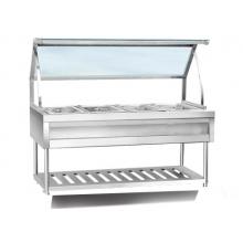 Nadstar8 Electric Food Warmer Glass Top 6 side 60000