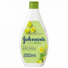 Johnsons Vita Rich Revitalising Grapeseed Body Wash 250mls 20768