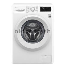 LG Washing Machine 7Kg White Front Load F4J5QNP3W