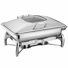 Nadstar8 Chaffing Dish 9L Induction with Glass Top 1011L