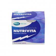 Mega Multi-Vitamins Nutrivita Caps 50s 17884 NV