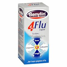 Benylin Four Flu Syrup 100mls 20477 NV