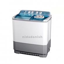 LG Washing Machine 11Kg White Twin Tub Semi Automatic P1460PWPL
