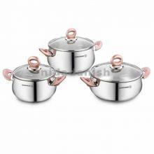 Korkmaz  Rosabella JR. 6 Pcs Cookware Set  A1939