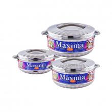 Maxima Hotpot 3pcs Medium 2500-3500-5000ML