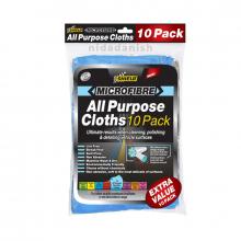 Shield-Auto Microfibre All Purpose Clothes 10 Pack SH388