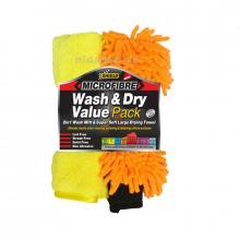 Shield-Auto Microfibre Wash N Dry Value Pack SH390