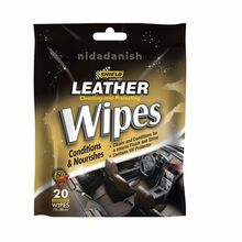 Shield-Auto Leather Care Wipes 20s SH151