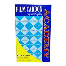 Academy Carbon Paper Full Size Blue 100s P03030