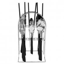 Nadstar2 Cutlery Set 24pcs Heavy Quality 2019024 - Multi Color Handle