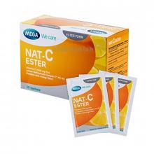 Mega Multi-Vitamins NAT C Esther Vitamin C 1000mg Plus 30s Sachets 21271