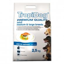 Tropidog Premium Adult Medium & Large Breeds 2.5kg Rich in Salmon with Rice