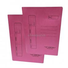 Academy Flat File Manilla Pink A86835