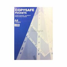 ABBA Punch Pocket Copysafe A4 Sheet Protectors  PPC