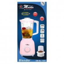 Electro Master Blender 2in1 Unbreakable Jar EM-BL-1361