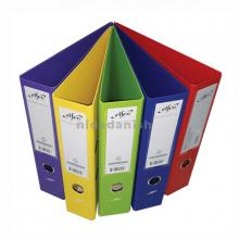 Elfen Box File A4 PVC Coated Assorted Colours P05704
