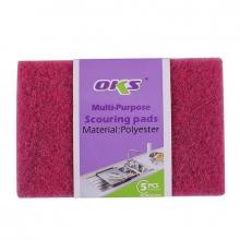 Oks Scouring Pad Multi-Purpose 5pcs 15x10x0.5CM 420-5