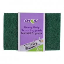 Oks Scouring Pad Multi-Purpose 5pcs 15x10x0.8CM 750g-5