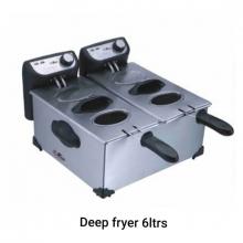 Electro Master Deep Fryer 6 Ltr Double EM-DF-1053