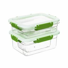 Herevin Storage Container 4pcs - Green 162400-002