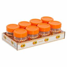 Herevin Jar Honey and Jam 8x40CC Decorated - Apricot 131503-804