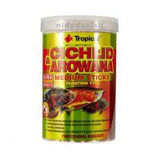 Tropical Cichlid & Arowana Medium Sticks Colour 360g Fish Food 5900469635261