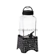 Herevin Beverage Dispenser 5L Square Decorated Water 137606-001