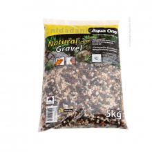 Aqua Natural River Gravel brown 5kg Fish Accessories 6288725950