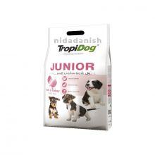Tropidog Premium Junior S M Turkey Rice 8kg Dog Food 5900469572474