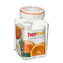 Herevin Canister 2Ltr Square - Mix Coloured 143016-000