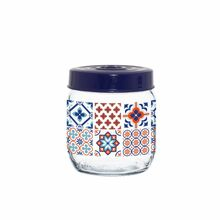 Herevin Jar 425cc Decorated - Mosaic 171341-063