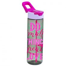 Herevin Sports Water Bottle 700 cc Decorated With Straw - Do Things 161801-006