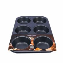 Nadstar2 Baking Tray 6 Hole Cupcake 618B