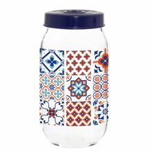 Herevin Jar 1000 cc Decorated - Mosaic 171541-063