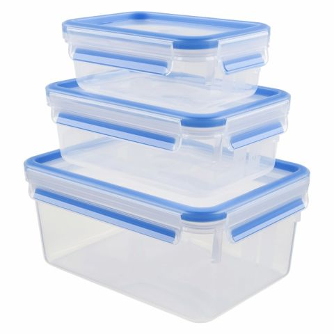 Tefal Masterseal Plastic Container 3pcs K3028912