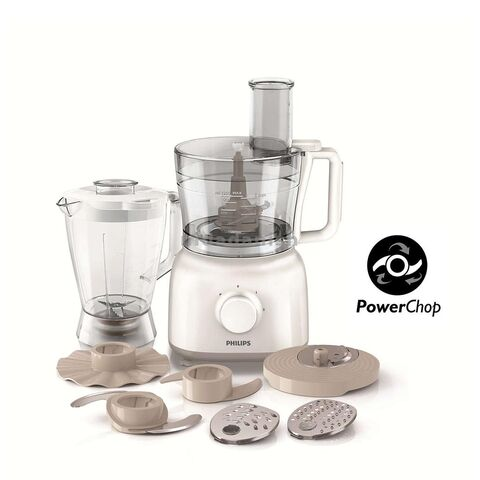Philips Food Processor 650W with Bowl, Blender and More HR7628
