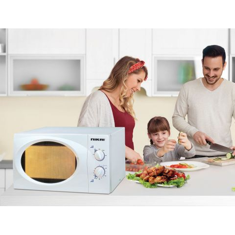 Nikai Microwave 23L Manual 800w NMO2309MW