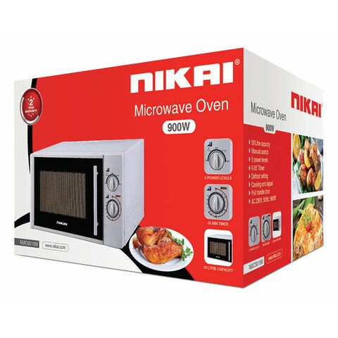 Nikai Microwave Manual 30L 900w NMO3010M